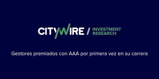 Gestores que en Junio han recibido su primera AAA de Citywire