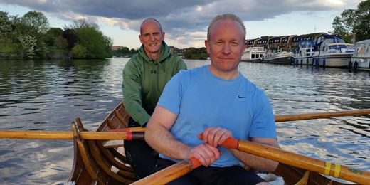 Hermes to row the Thames for charity