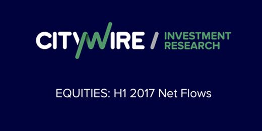 The equity sectors seeing the biggest H1 2017 inflows