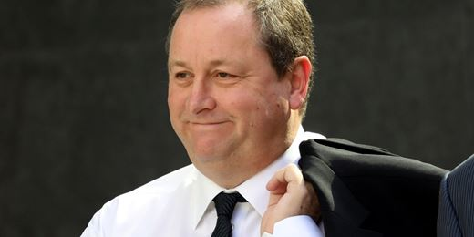 Mike Ashley wins £15m