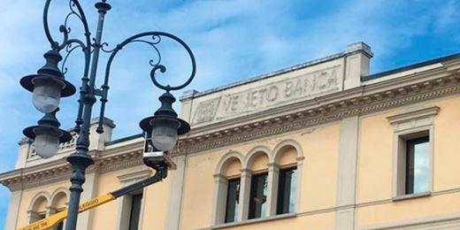Scompare il brand Veneto Banca Intesa rimuove le insegne dalle filiali
