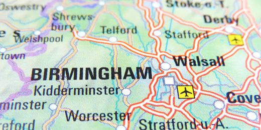 Regional footprint: the view from the Midlands