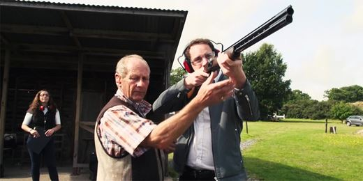 On the Road Challenge: Clay pigeon shooting with Thesis' Lansdowne